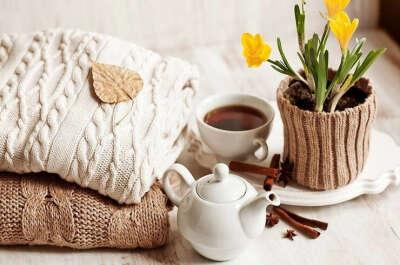 Любые уютные и вкусные вещи :)