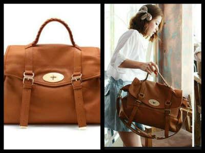 винтажная сумка -портфель..)