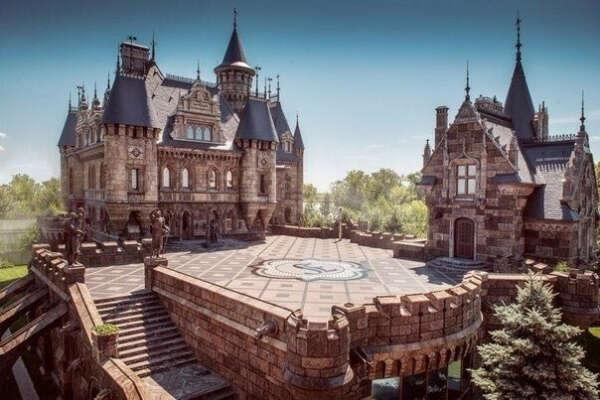 Посетить замок Гарибальди