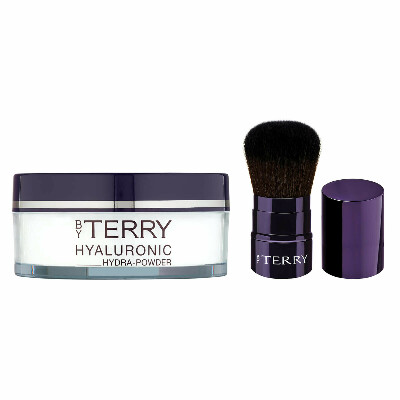 By Terry Exclusive Hyaluronic Hydra Powder and Kabuki Brush Set