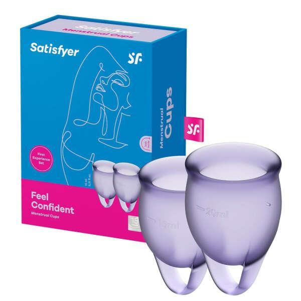 Менструальные чаши Satisfyer Feel Confident