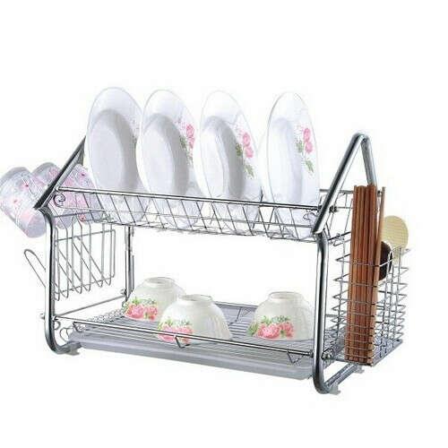 Хромированая сушилка для посуды =)