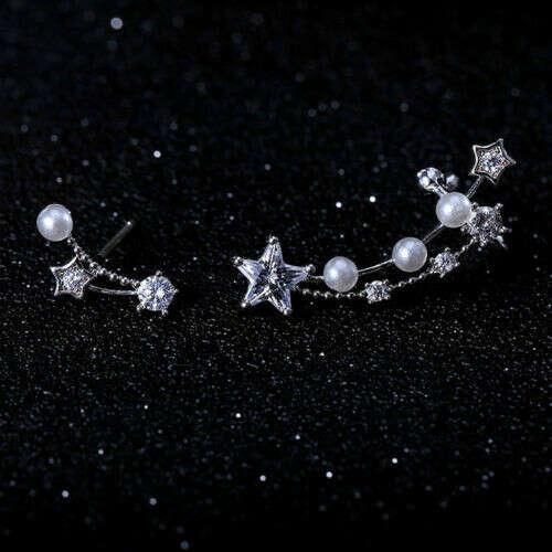 Серьги со звездами