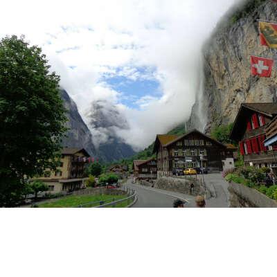 Lauterbrunnen in Interlaken-Oberhasli (Switzerland)