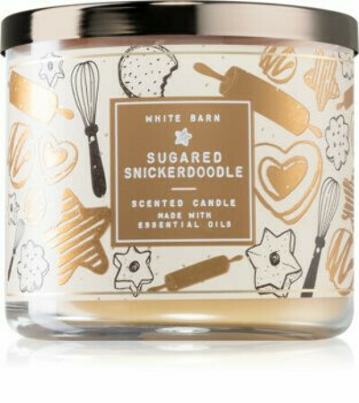 Bath & Body Works Sugared Snickerdoodle 3-Wick Candle