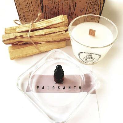 Набор Пало Санто со свечой (мини) - PALOSANTO