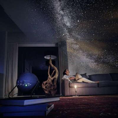 Домашний планетарий со съемными линзами-картами-звёздами-планетами
