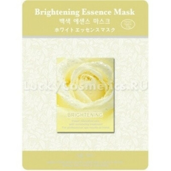 Листовая маска отбеливающая Mijin Cosmetics Brightening Essence Mask