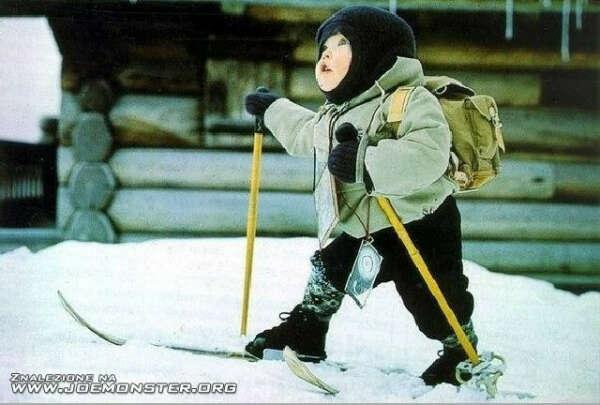 Лыжи! :)