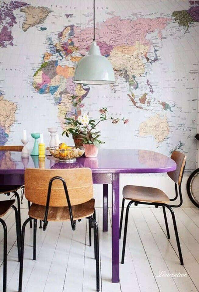 Карту во всю стену