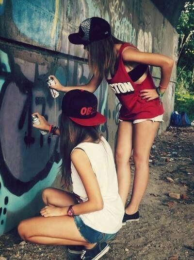 хочу уметь рисовать граффити.