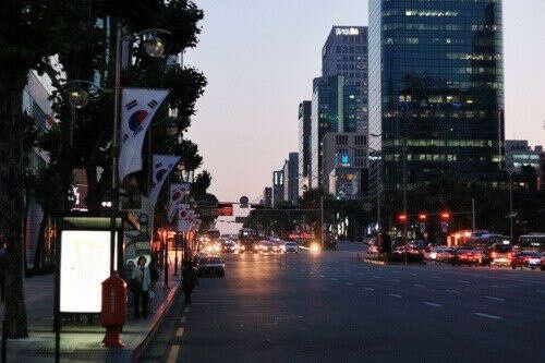 Побывать в Южной Корее!