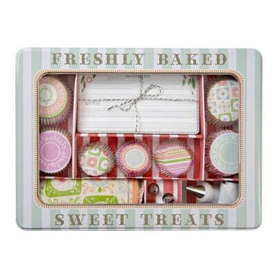 Набор для капкейков подарочный с фартуком 'Sweet Treats'