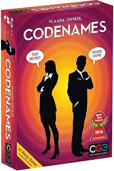 Настольная игра Кодовые Имена (Codenames) (Укр) ( FI17021 )