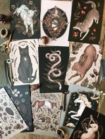 Postcards Jessica Roux