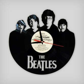 Часы из пластинки The Beatles