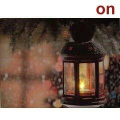 Картина со светодиодами «Зимняя»