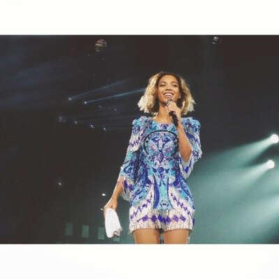 Побывать на концерте Beyonce