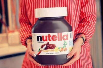 Nutella в 5 кг весом!