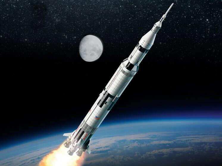 Конструктор Ideas (Айдиас) 21309 Сатурн-5-Аполлон LEGO