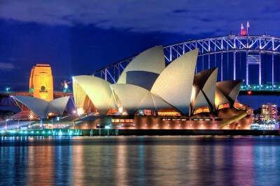 посетить Sydney Opera House