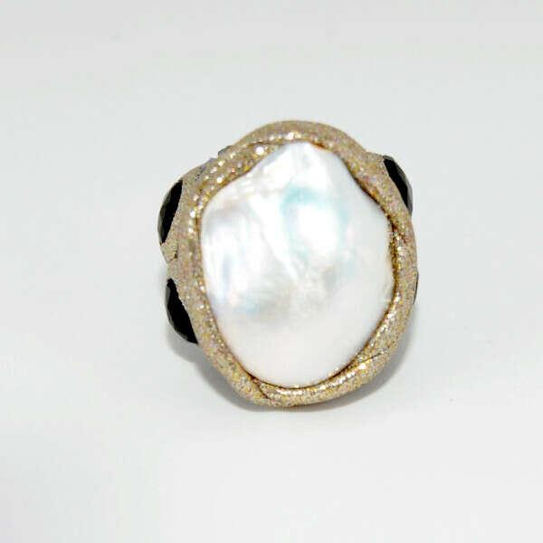Кольцо, коллекция ESTROSIA, арт. AN933