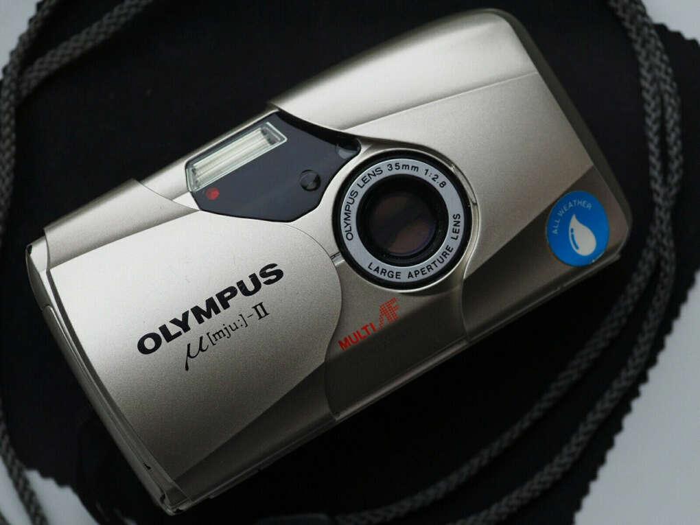плёночный Фотоаппарат Olympus Mju II