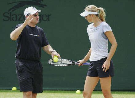 Поиграть в большой теннис с дедушкой