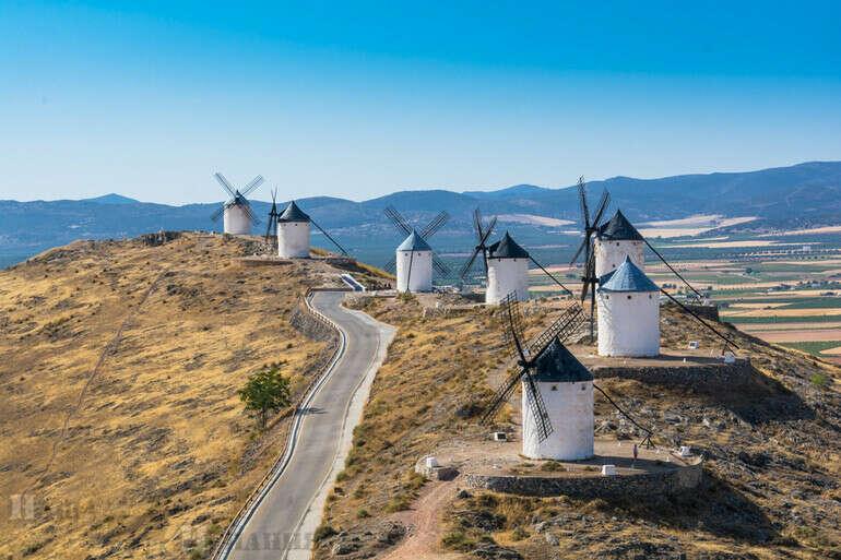 посетить Ветряные мельницы Ла Манчи