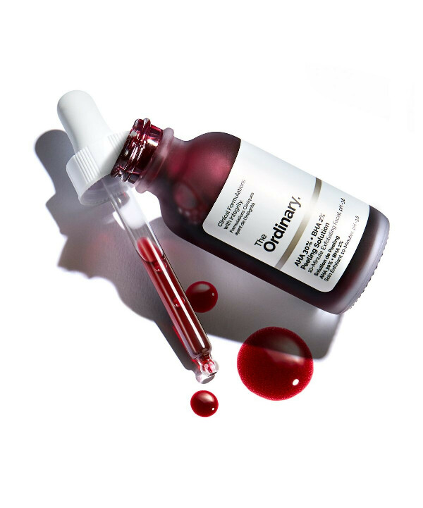 Кровавый пилинг the  ordinary