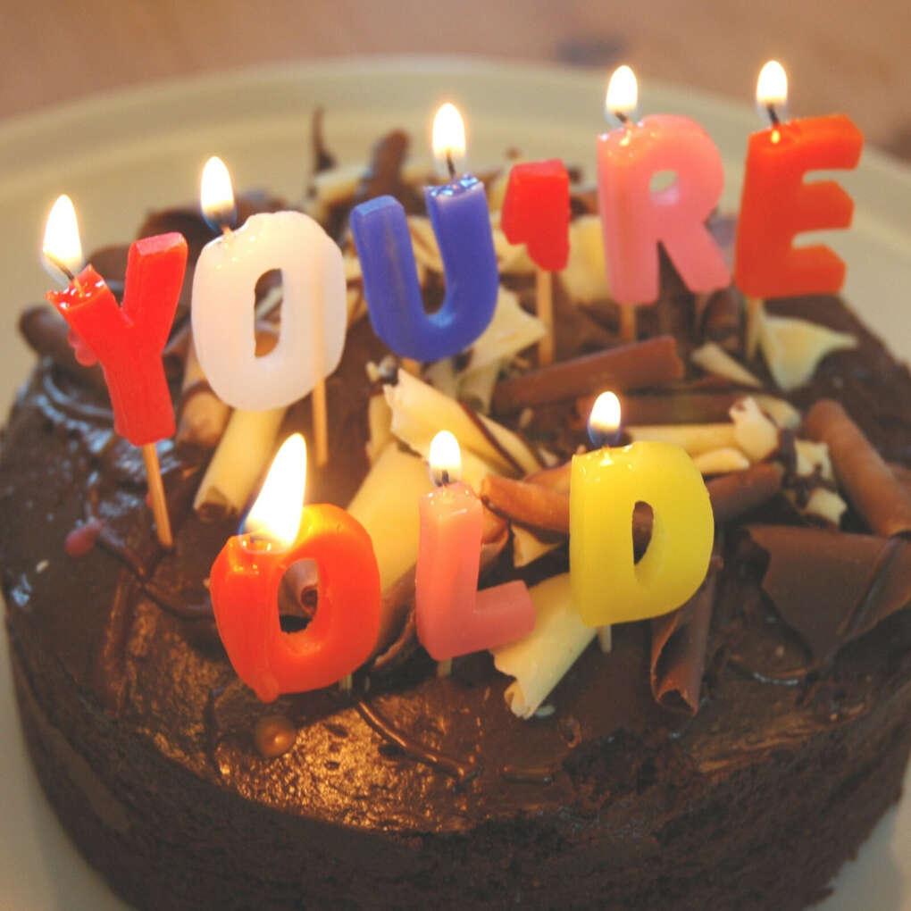 Вкусный тортик со свечками