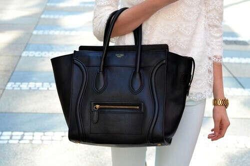 черная сумка CELINE