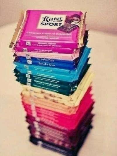 Много-много шоколада.