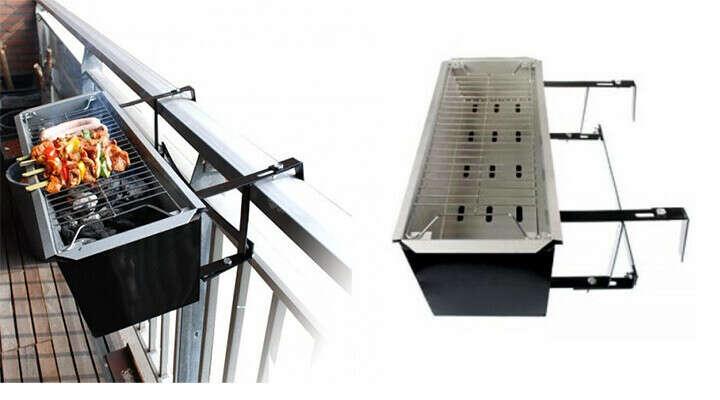 Гриль для балкона на углях -48%