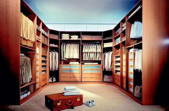 Гардеробную комнату