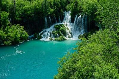 Плитвицкие озера (Хорватия)