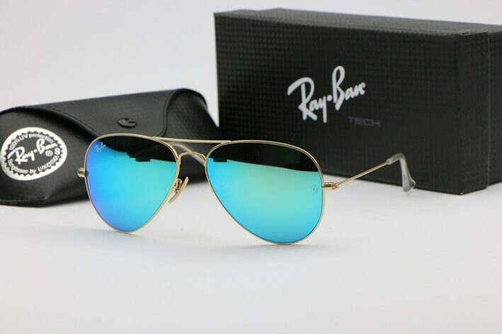 Очки Ray Ban авиаторы синие
