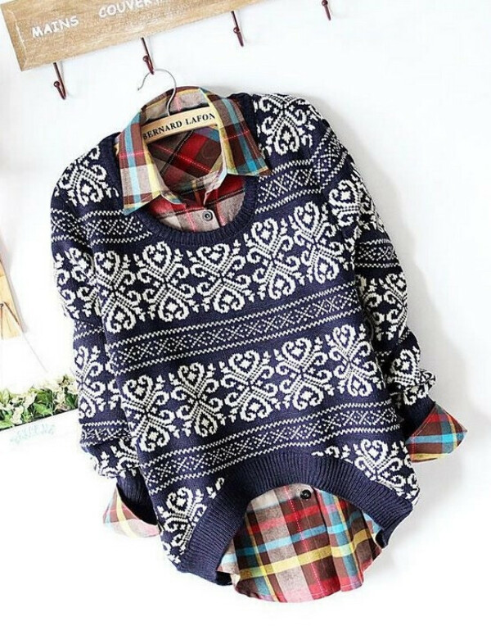 Необычный свитер)