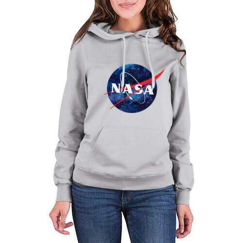 Женская толстовка хлопок NASA