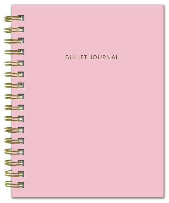 Bullet journal (Розовый)