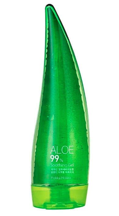 Holika Holika Aloe 99% Soothing Gel Универсальный несмываемый гель для лица и тела
