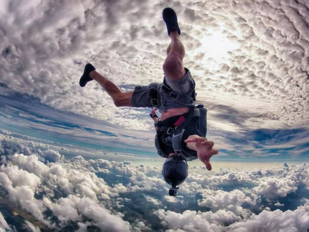 Прыгнуть с парашутом