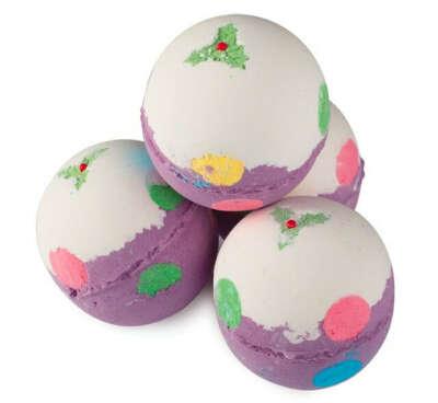Рождественский пудинг — бомба для ванны