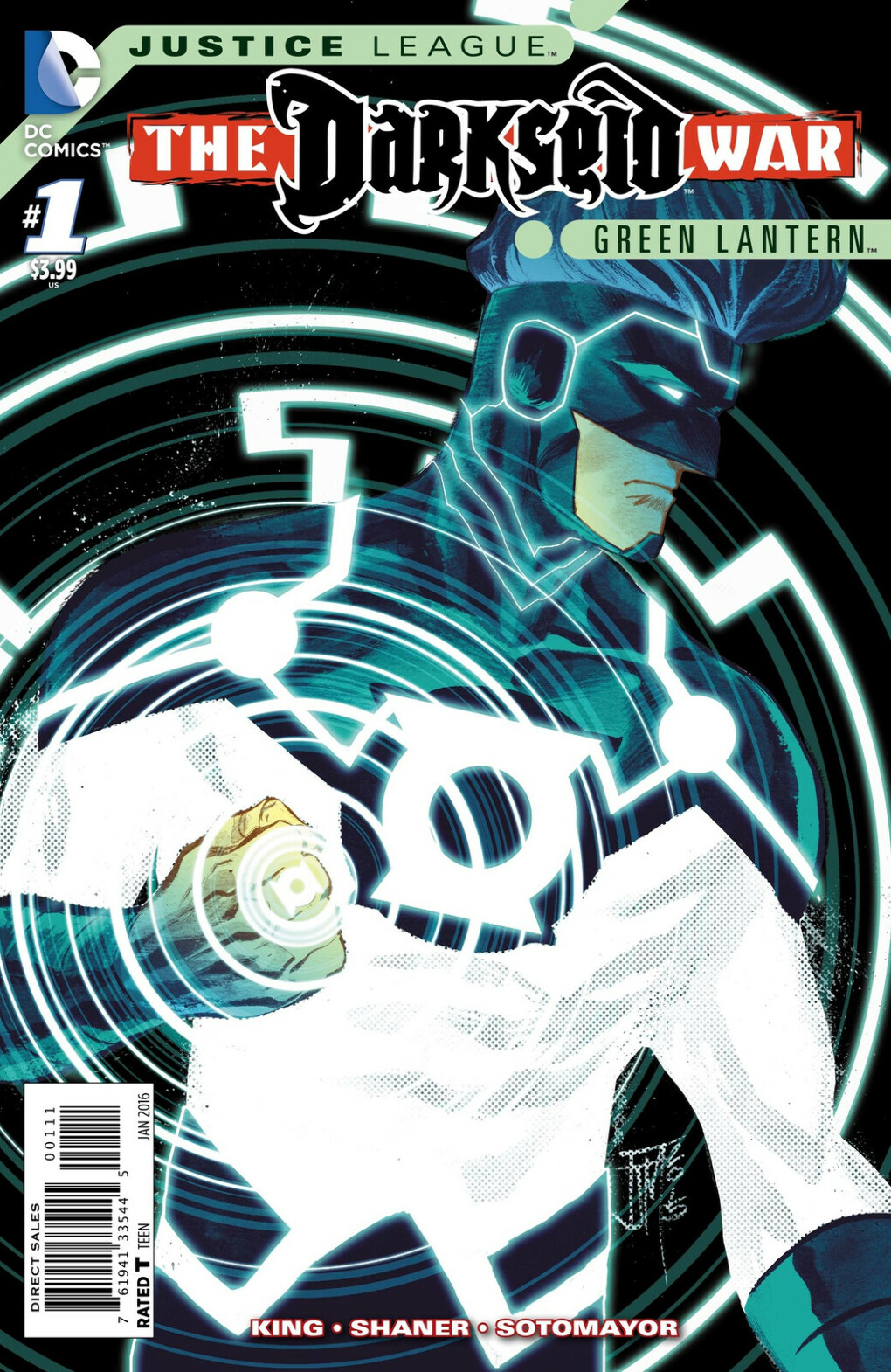 "Justice League: Darkseid War: Green Lantern #1 ""Will You Be My God?"""