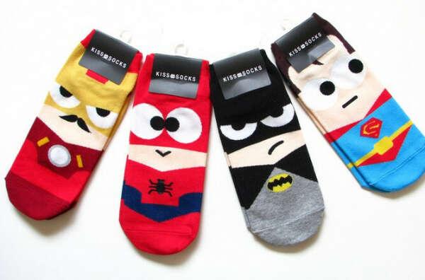 Носочки с супергероями
