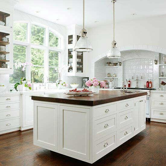 Большую, удобную, красивую кухню