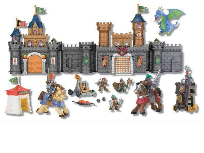 Большой замок рыцарский с аксессуарами