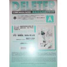 Купить бумагу DELETER для манги, B4, тип границ A, 135kg, 40 листов