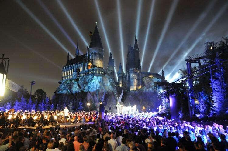 Побывать в Парке Гарри Поттера в Орландо