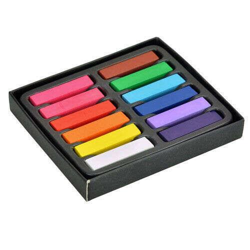 Оптовая продажа: набор из 12 цветов нетоксичной пастели для временного окрашивания волос., принадлежащий категории Окрашивание волос и относящийся к Красота и здоровье на сайте AliExpress.com   Alibaba Group
